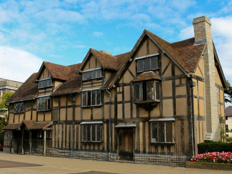 William Shakespeare's Birthplace in Stratford upon Avon