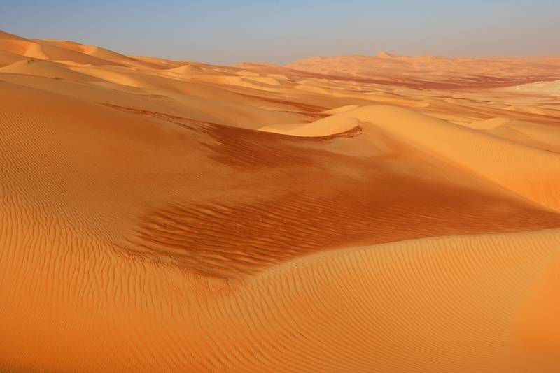 Desert in the Empty Quarter, Saudi Arabia