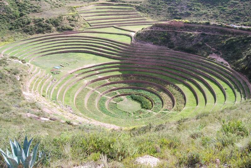 Cultivation terraces of Moray