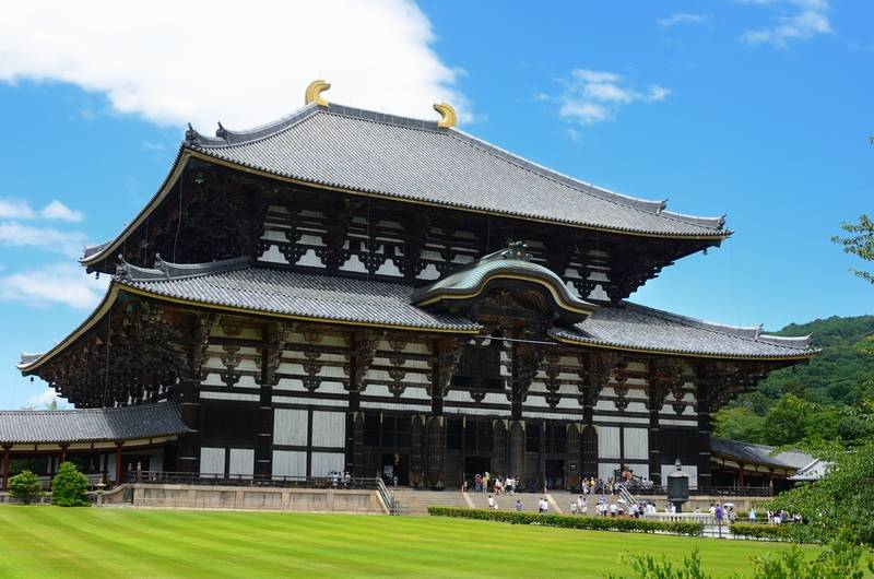 Todaiji, worlds largest wooden building